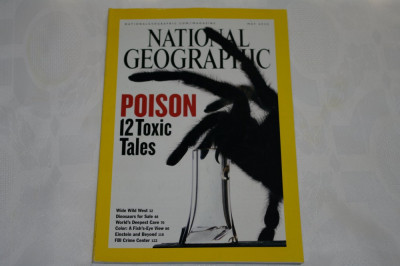 National Geographic - may 2005 - Poison - 12 toxic tales foto