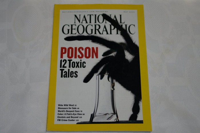 National Geographic - may 2005 - Poison - 12 toxic tales