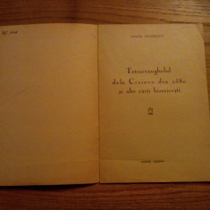 TETRAEVANGHELUL DELA CRAIOVA DIN 1580 ALTE CARTI BISERICESTI- Marcel Romanescu