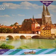 Puzzle 1000 piese Pelikan Regensburg