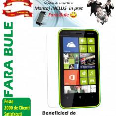 Folie protectie Nokia Lumia 620 transparenta Montaj iNCLUS in Pret - Folie de protectie Nokia, Lucioasa