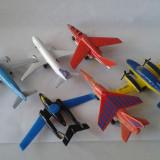 Jucarie veche, avion / avioane de lupta militar Matchbox, Lesney diverse