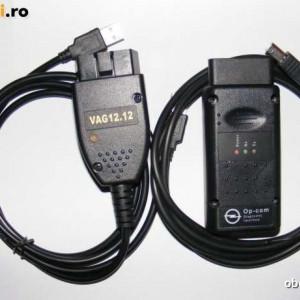 PACHET - VAG-COM 12.12 Pentru Volkswagen,Skoda,Seat,Audi -ŞI- OP-COM Pentru Opel