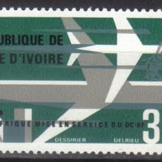 COASTA de FILDES 1966, Aviatie, serie neuzata, MNH - Timbre straine, Nestampilat