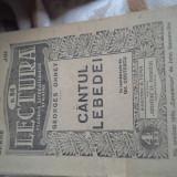 CANTUL LEBEDEI DE G.OHNET - Carte veche
