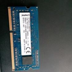 Vand 4gb ram ddr 3 - Memorie RAM laptop Kingston, 1600 mhz, Dual channel
