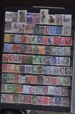 LT 44 - Suedia - timbre stampilate deparaiate - 97 bucati