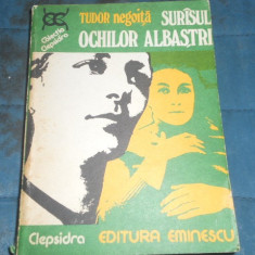 TUDOR NEGOITA - SURASUL OCHILOR ALBASTRI - Carte politiste