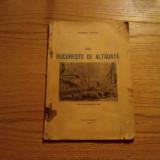 DIN BUCURESTII DE ALTADATA - George Potra - 1942, 56 p. - Carte veche