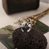 Inel THOR The Wark World LOKI - Casca - Culoare Argintiu