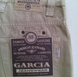 Pantaloni scurti Garcia, marimea XL (46-48) - Bermude barbati, Culoare: Bej