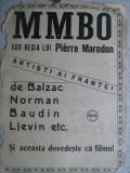 Afise (format mic) promovare filme anul 1925 - 3 buc.