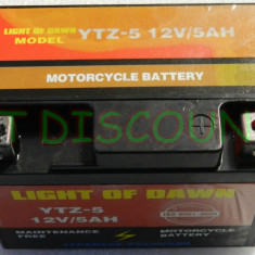 YTZ5S Baterie moto MS Super, fara intretinere High performance 12V5Ah / 10HR
