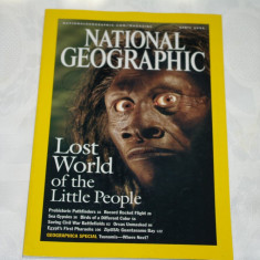 National Geographic - april 2005 - Lost world of the Little People