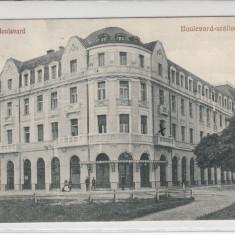 SIBIU, HOTEL BULEVARD, CIRCULATA IUN.*929 - Carte Postala Transilvania dupa 1918, Printata