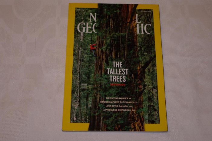 National Geographic - october 2009 - The tallest trees - Redwoods