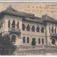 SALISTE, CASA NATIONALA DIN SALISTE, CIRCULATA SEP.*923 - Carte Postala Transilvania dupa 1918, Printata