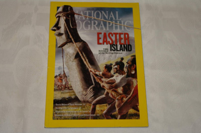 National Geographic - july 2012 - Easter island-The riddle of the moving statues foto