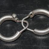 Cercei vechi din argint (18)