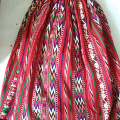 Zavelca, sort popular, valnic, fota zona Moldovei Fusta Aleasa An 1800 VECHE - Costum popular