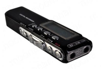 Reportofon digital Profesional 8 GB - 850 Ore  - MP3 Player - Activare vocala - foto