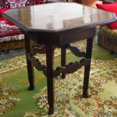 Masa in stil rustic din lemn masiv, Mese si seturi de masa