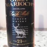 Whisky GLEN GARIOCH, highland single malt, distilled 1970, 21yo, cl.70 gr.43