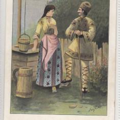 ROMANIA - PORT POPULAR - Carte postala tematica, Necirculata, Printata