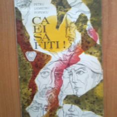 G4 Petru Demetru Popescu - Ca ei sa fiti! - Carte de povesti