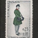 Franta.1967 Ziua marcii postale-Uniforma postala SF.451 - Timbre straine