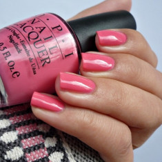 OJA OPI NAIL LACQUER ELEPHANTASTIC PINK 15 ML, Roz