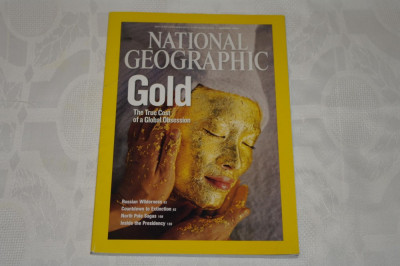 National Geographic - january 2009 - Gold - The true cost of a Global obsession foto