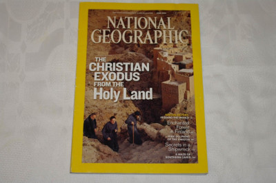 National Geographic - june 2009 - The Christian exodus from the Holy Land foto
