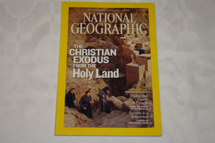 National Geographic - june 2009 - The Christian exodus from the Holy Land