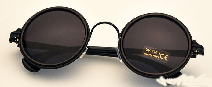 Ochelari de Soare Vintage Rotunzi Retro Chrome Hearts Reflectivi  4Culori