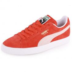 Adidasi PUMA Originali - piele naturala - tenisi originali Puma - 40 - Tenisi barbati Puma, Culoare: Orange
