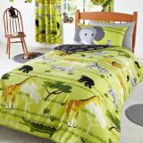 Lenjerie pat copii import Anglia; garantie la livrare; culori ca in prima foto