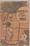 (C5930) FOTBAL. AGENDA DE TOAMNA 1988