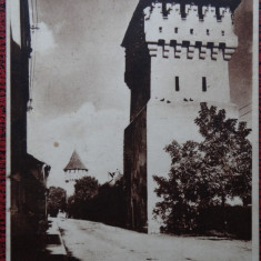 Carte postala - Sibiu - Turnuri - Carte Postala Bucovina dupa 1918, Necirculata