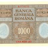 1000 LEI 1917 BGR - GREU DE GASIT IN UNC - Bancnota romaneasca