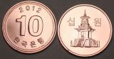 Coreea de sud 10 won 2012 _ UNC, Asia