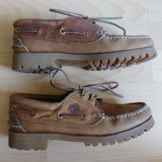 Pantofi / ghete Lumberjack Made in Italy; 100% piele naturala; marime 37
