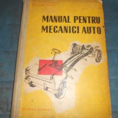 HELMUTH DOHL - MANUALUL PENTRU MECANICI AUTO