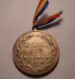 Medalie Carol II Scoalele din Bucovina 1933 - Vizita Regelui RARA