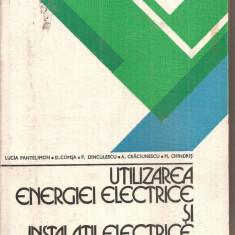 (C5924) UTILIZAREA ENERGIEI ELECTRICE SI INSTALATII ELECTRICE DE L. PANTELIMON