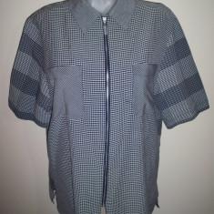 Bluza eleganta, stil office, marime 42: 57 cm bust; impecabila - Bluza dama, Culoare: Din imagine, Maneca scurta