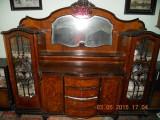 Ieftin mobila sufragerie de Arad LEMN MASIV ( lemn de nuc ) Chipendale anii 1900, Sufragerii si mobilier salon, Chippendale, 1900 - 1949
