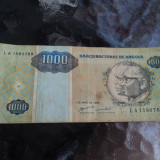 JN. 1000 kwanzas 1995 Angola