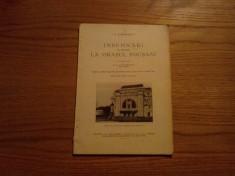 Insemnari cu privire la  ORASUL FOCSANI - I. M. Dimitrescu - 1931, 78 p. foto