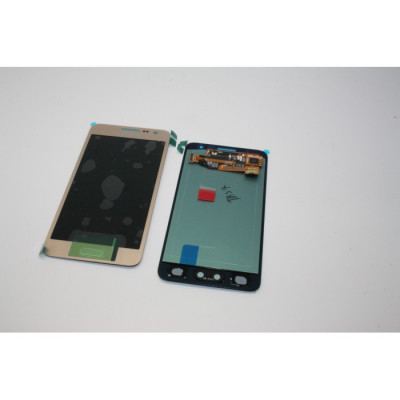 Display Samsung Galaxy A3 a300 2015 auriu ecran cu touchscreen complet foto